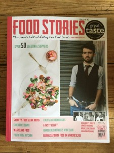 Food Stories book