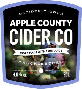 Chuckleberry Cider
