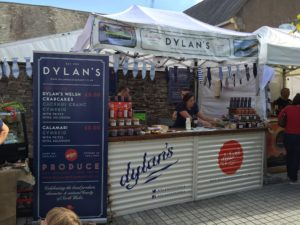 Dylan's at Abergavenny Food Festival