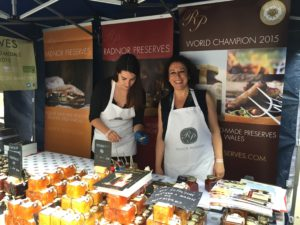 Radnor Preserves at Abergavenny Food Festival